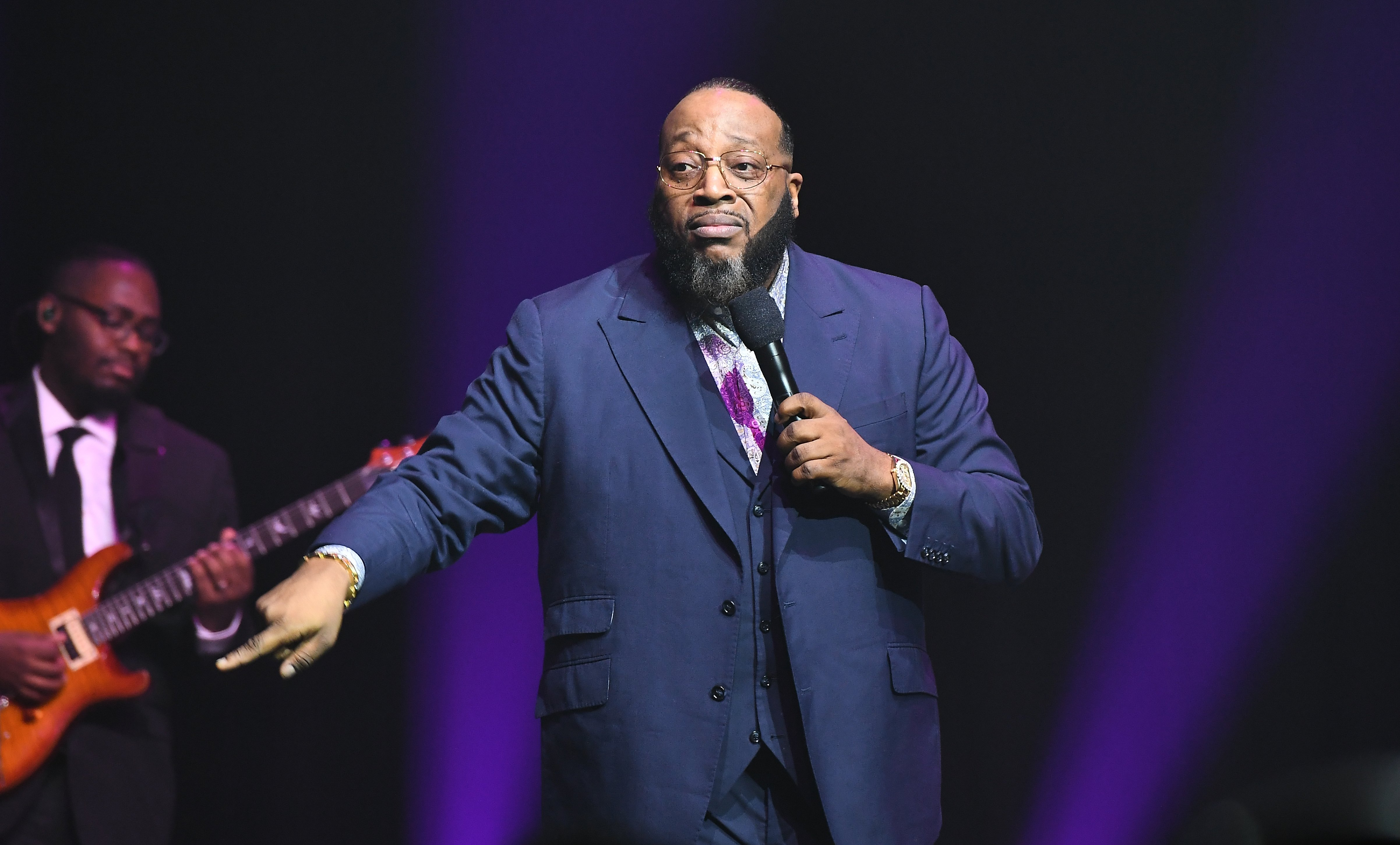Marvin Sapp performs onstage during the 2018 Urban One Honors at The Anthem on December 9, 2018 in Washington, DC. | Source: Getty Images