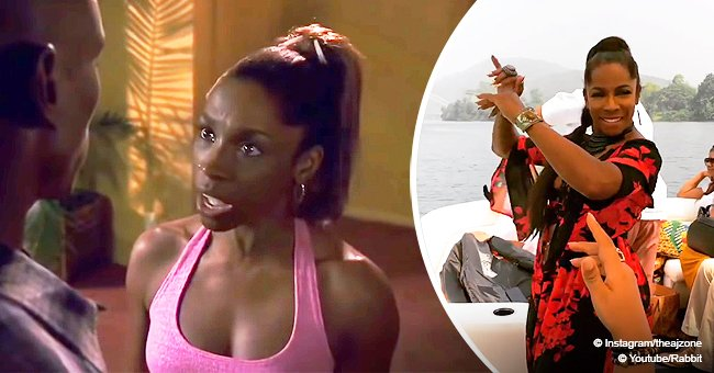 Remember Juanita in 'Baby Boy' film? She dances her heart out on a boat for her 56th b-day in video