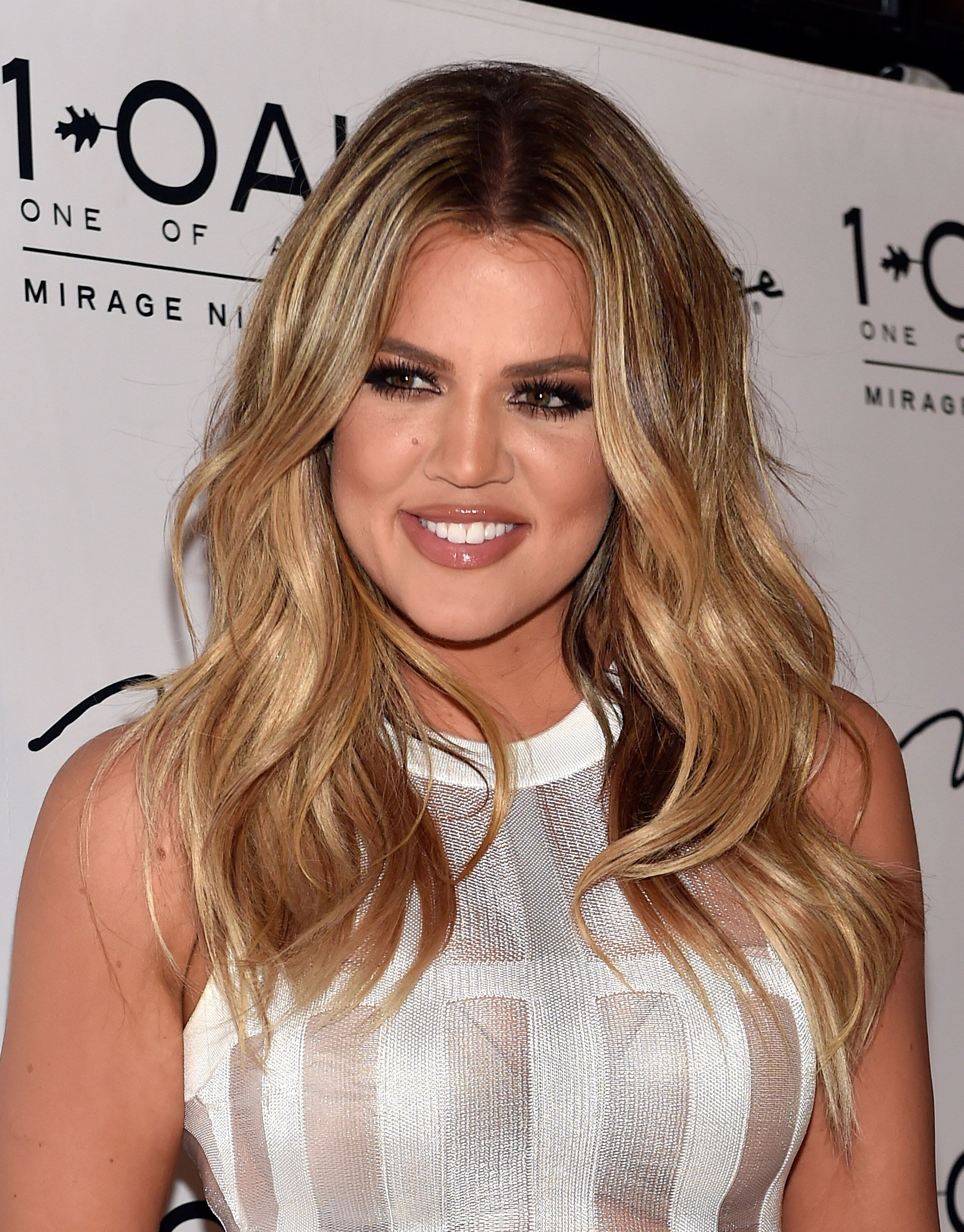 Khloe Kardashian at 1 OAK Nightclub on March 21, 2015, in Las Vegas, Nevada | Photo: Getty Images