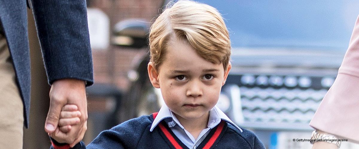 Prince George aurait révélé le nom du bébé royal en janvier dernier