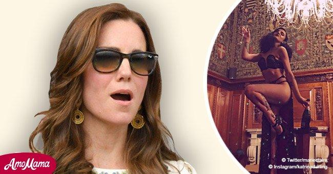 La cousine de Kate Middleton est une danseuse burlesque et une mannequin Playboy, et ses poses sont suggestives