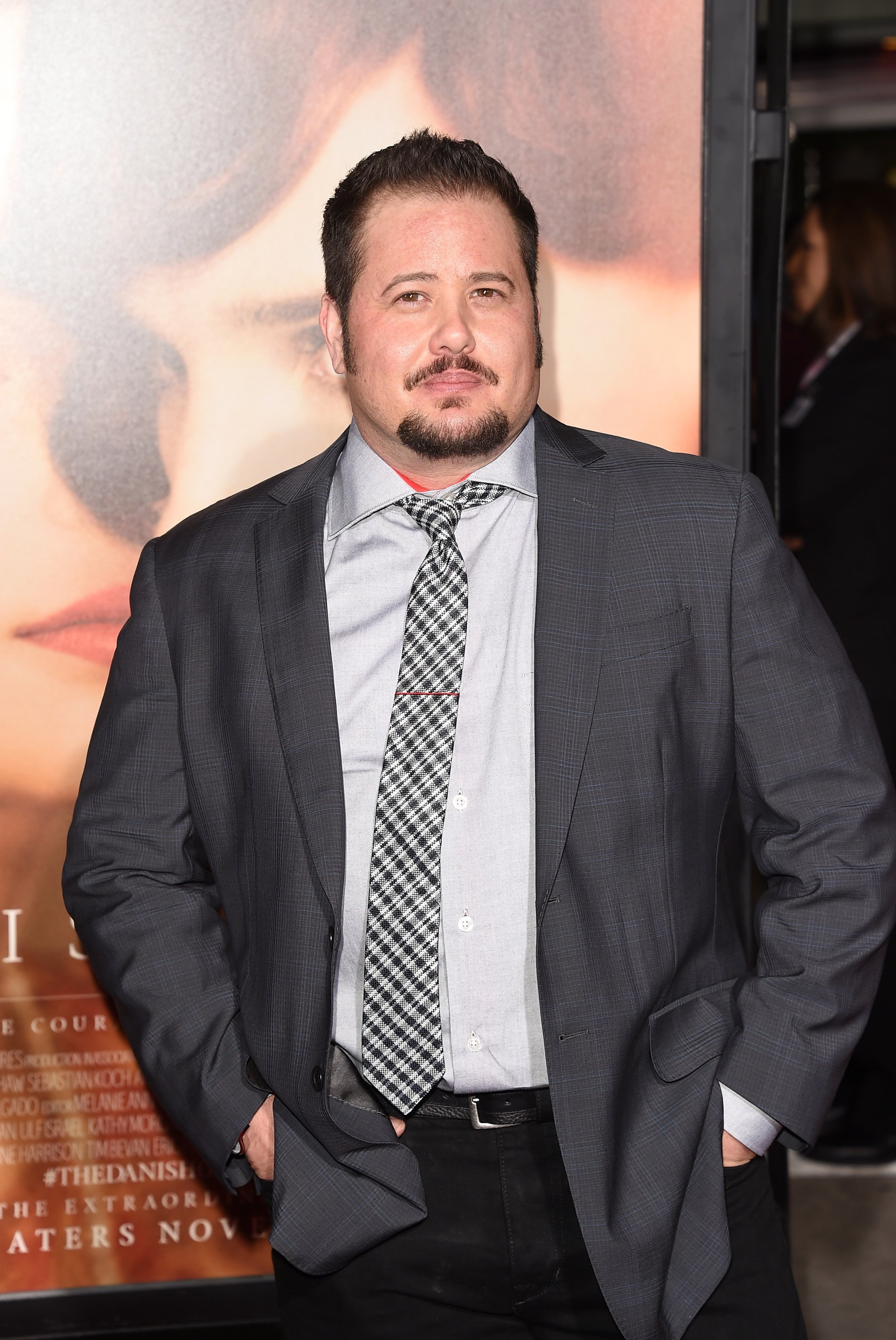 "Chaz Bono attends the premiere of Focus Features' ""The Danish Girl"" at Westwood Village Theatre on November 21, 2015 