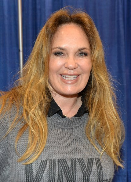 Catherine Bach at the Anaheim Convention Center at Anaheim, California on September 29, 2019. | Photo: Getty Images