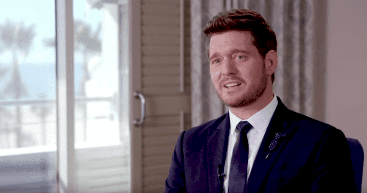 Michael Bublé talking about Loren Allred | Source: YouTube/Michael Buble