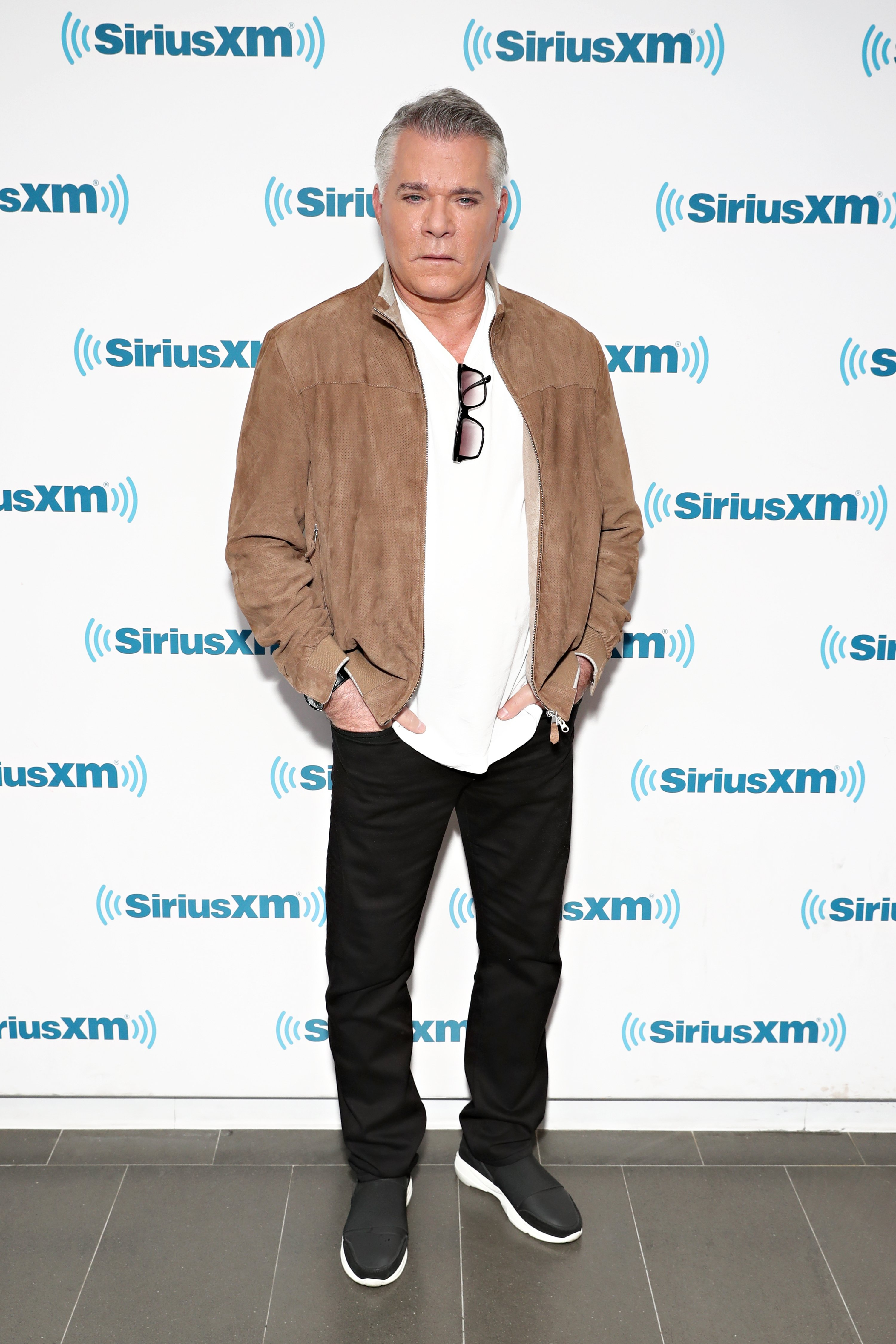 Ray Liotta pictured visiting the siriusxm studios in 2018 in New York | Photo: Getty Images