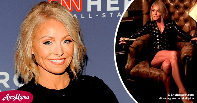Kelly Ripa opens up about her workout mantra, joking her body looks like Peter Pan no matter what