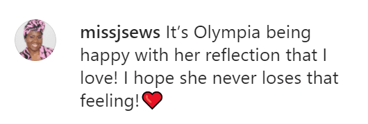 A fan's comment on Serena Williams and her daughter's video wearing matching clothes. | Photo: Instagram/Serenawilliams