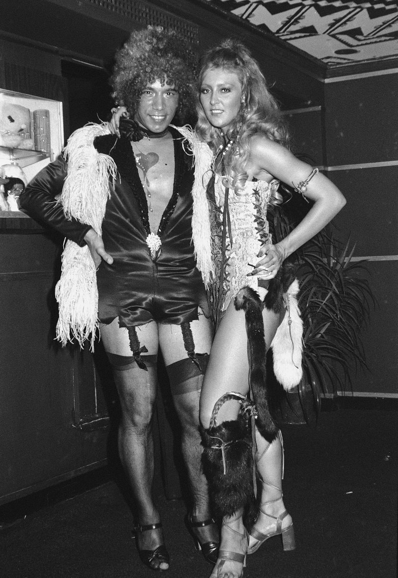 Lennie Barin and Christa Helm in the mid-1970s   Photo: Getty Images