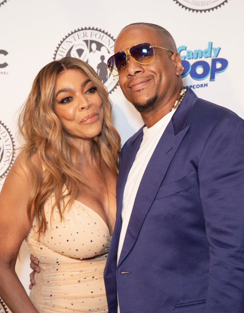 Kevin Hunter and Wendy Williams at the Hunter Foundation gala at Hammerstein  | Source: Shutterstock