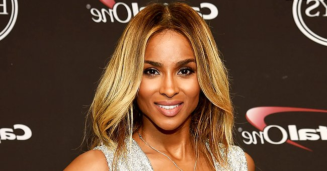 Ciara's Daughter Sienna Looks Cool in a Pink Outfit as She Gets Her Hair Braided by the Singer