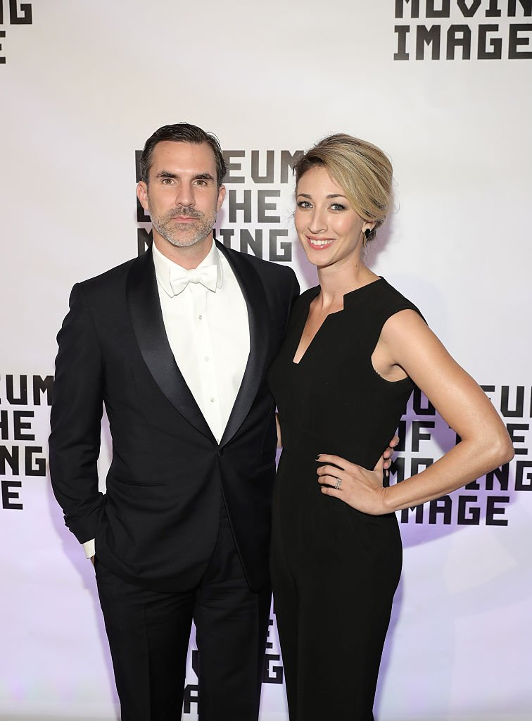 Paul Schneider and guest attend Museum Of The Moving Image 30th Annual Salute honoring Warren Beatty | Getty Images