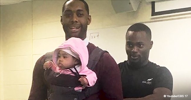 College Professor Goes Viral after Holding Baby in Class so Student Can Take Notes