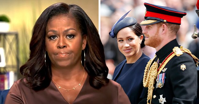 Michelle Obama Discusses Meghan & Harry's Tell-All as She Shares Her Hopes for the Royal Family