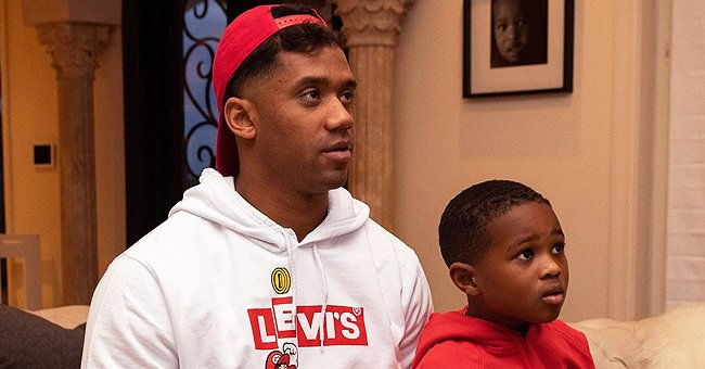 Russell Wilson Shares a Snap Spending Quality Time Playing Video Games with His Stepson, Future