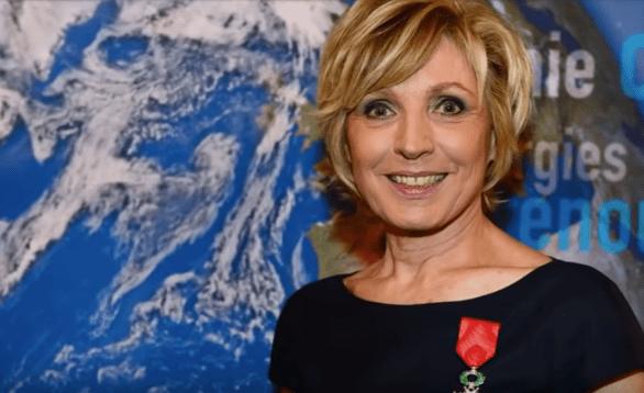 Evelyne Dhéliat, présentatrice des bulletins météorologiques de TF1. | Youtube/6Medias