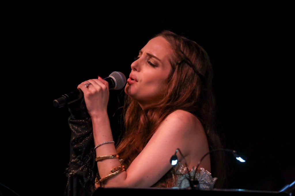 Alexa Ray Joel performs at the Opening Night of her 7th run at the Cafe Carlyle    Getty Images