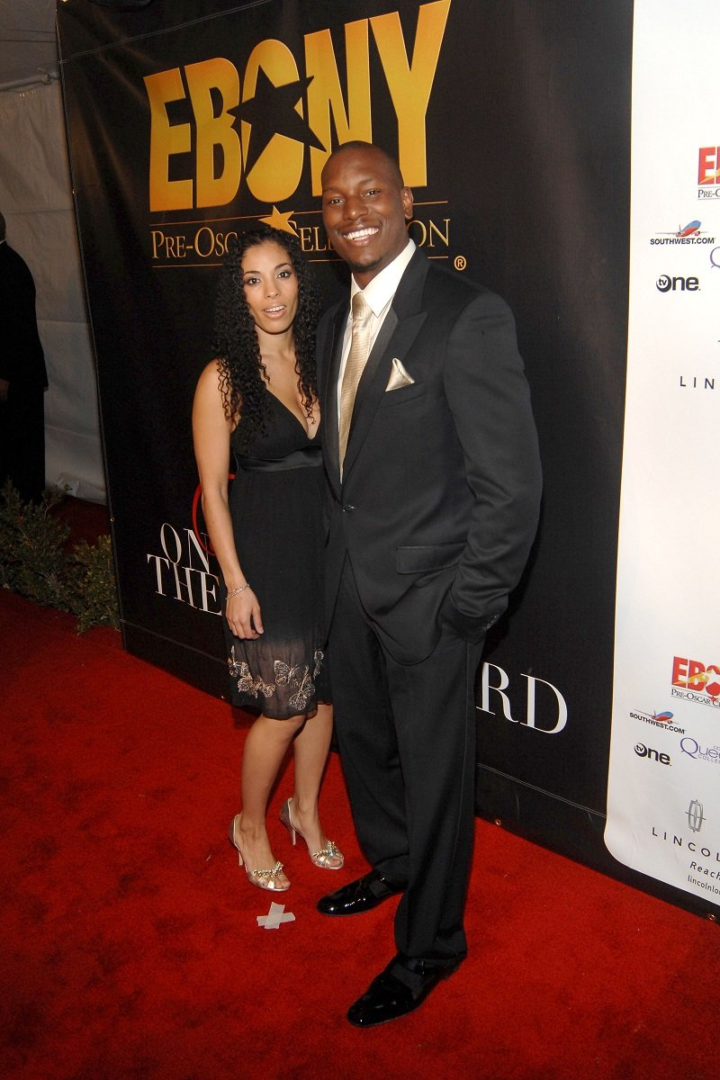 Norma and Tyrese Gibson on February 21, 2008   Photo: Getty Images