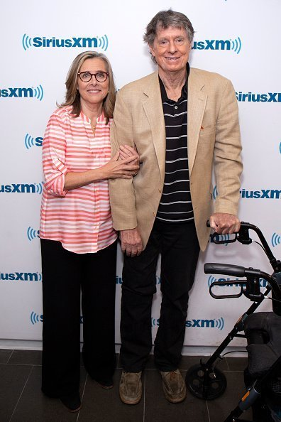 Meredith Vieira and Richard Cohen at SiriusXM Studios on May 7, 2018 in New York City. | Photo: Getty Images