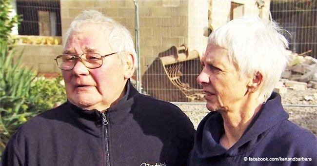 Anciana pareja fue obligada a demoler su hogar de ensueño y ahora deben vivir en un bote
