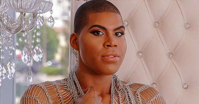 Magic Johnson's Son EJ Shows Plenty of Skin in Sparkly Outfit & Sarong Skirt