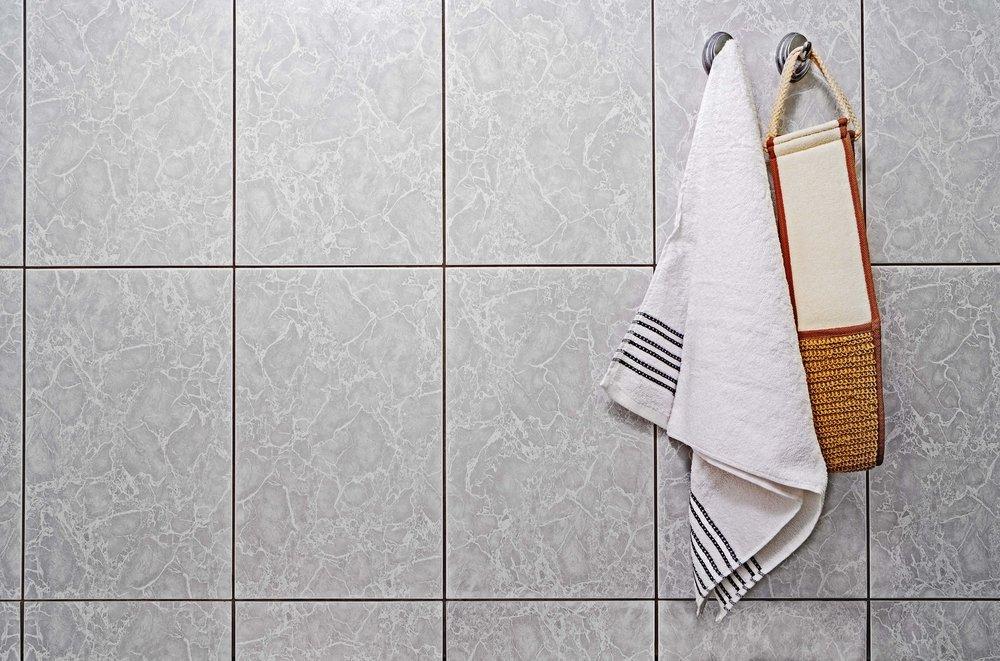 Pared con azulejos. Fuente: Shutterstock