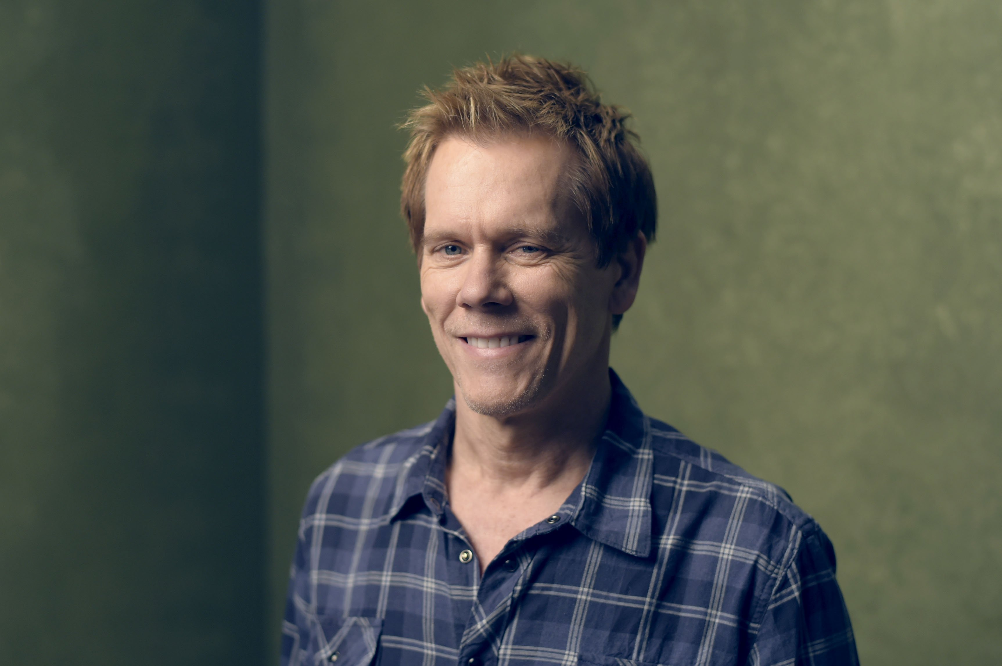 """Kevin Bacon from """"Cop Car"""" poses for a portrait at the Village at the Lift Presented by McDonald's McCafe during the 2015 Sundance Film Festival on January 24, 2015 in Park City, Utah 
