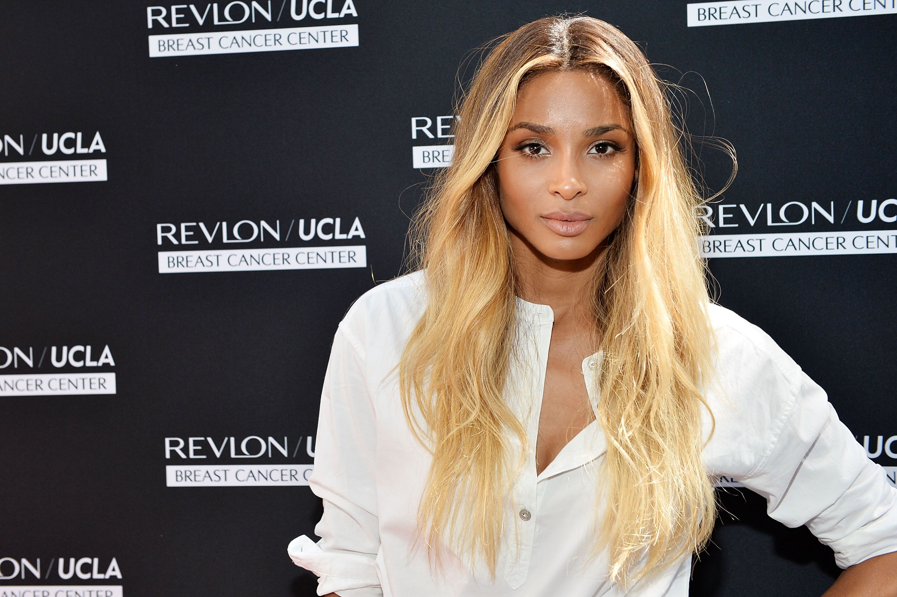 Ciara celebrates ground-breaking achievements in cancer research at Revlon's Annual Philanthropic Luncheon at the Chateau Marmont on September 27, 2016 in Los Angeles, California | Photo: Getty Images