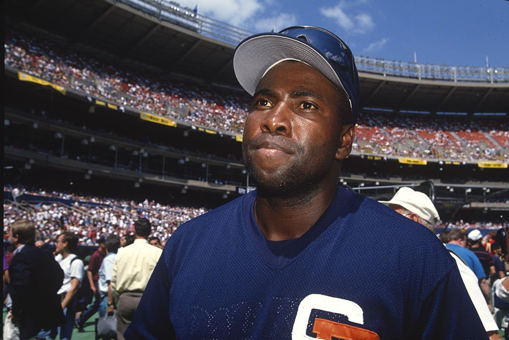 Tony Gwynn #19 of the San Diego Padres during the 65th MLB All-Star game against the American League at Three Rivers Stadium on Tuesday, July 12, 1994 in Pittsburgh, Pennsylvania. I Image: Getty Images.
