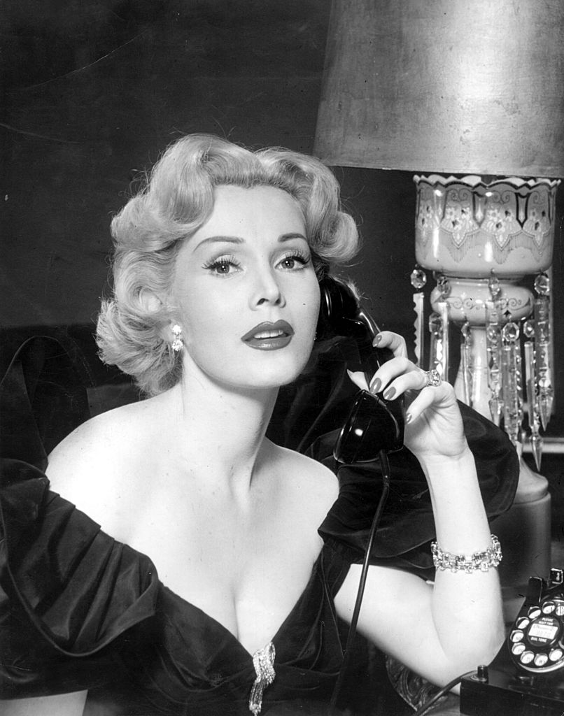 Promotional photo of Zsa Zsa Gabor circa 1950   Photo: Getty Images