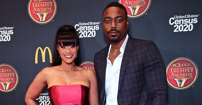 Tami Roman of 'Basketball Wives' Fame Showed off Plenty of Skin in Tight Strapless Dress at the Bounce Trumpet Awards