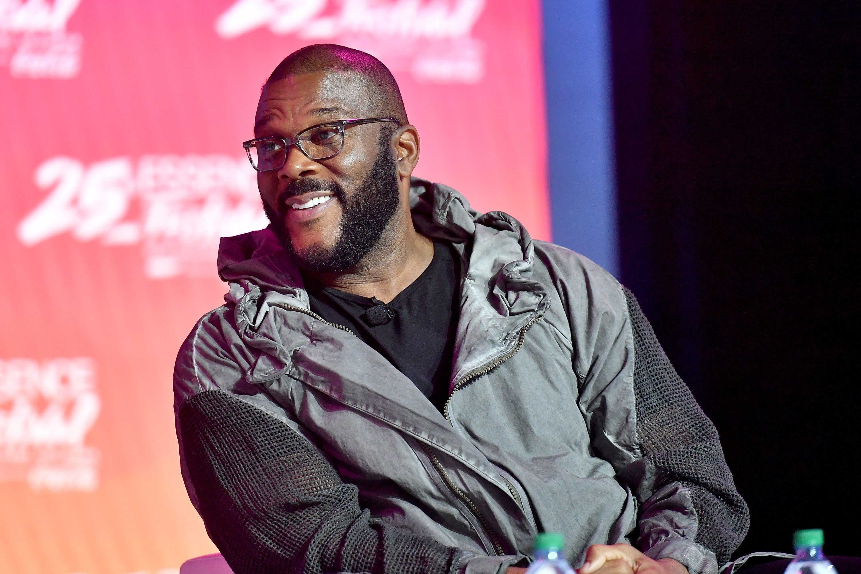 Tyler Perry at the ESSENCE Festival in New Orleans in July  2019 | Photo: Getty Images