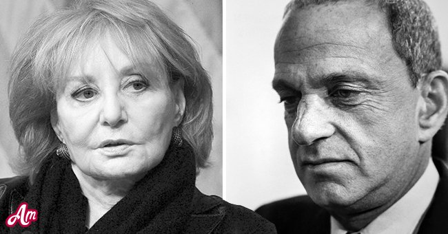 Left: Barbara Walters speaks at the The John F. Kennedy Jr. Forum presents An Evening with Barbara Walters at Harvard University on October 7, 2014 in Cambridge, Massachusetts. Right: The American lawyer Roy Cohn, New York, New York, December 12, 1979.   Source: Getty Images