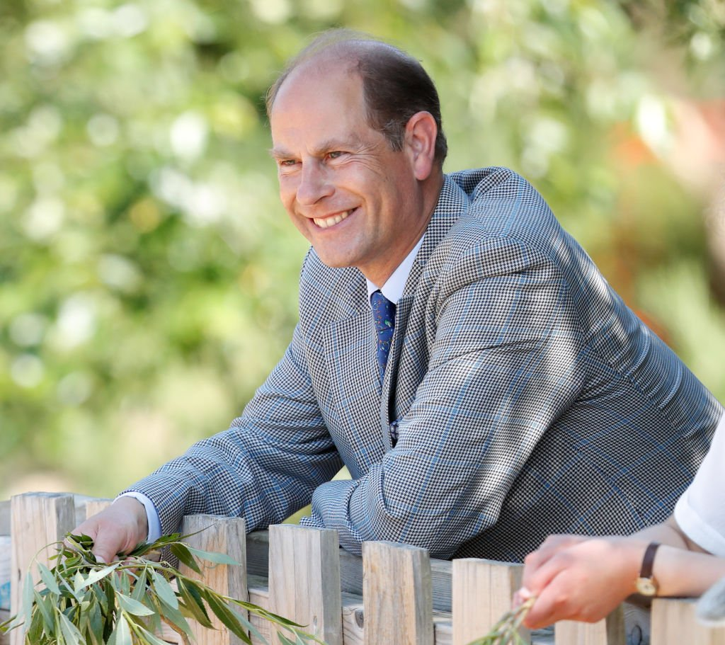 Prince Edward, Earl of Wessex visits The Wild Place Project at Bristol Zoo on July 23, 2019 in Bristol | Photo: Getty Images