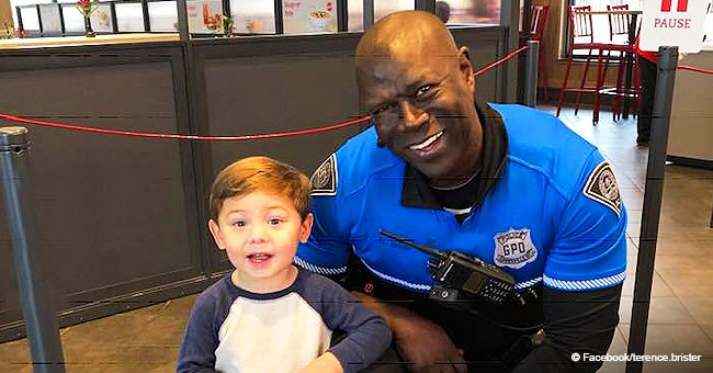 'He didn't see black or white,' SC officer befriended by little boy who thanks him for his service