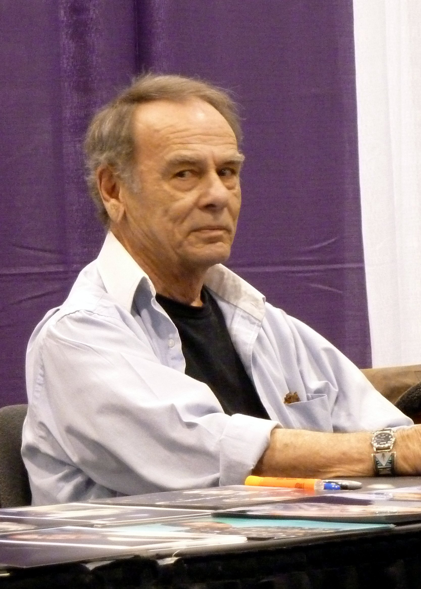 Dean Stockwell at Wizard World Toronto 2012. | Source: Wikipedia.