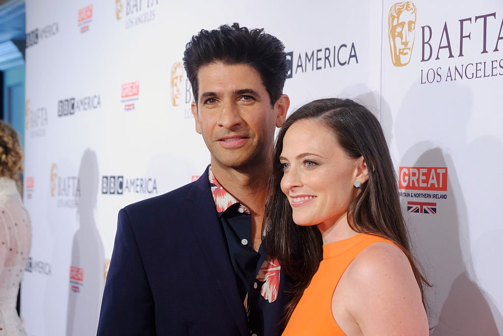 Raza Jaffrey and Lara Pulver attend the BBC America BAFTA Los Angeles TV Tea Party 2016 at The London Hotel on September 17, 2016 in West Hollywood, California | Photo: GettyImages