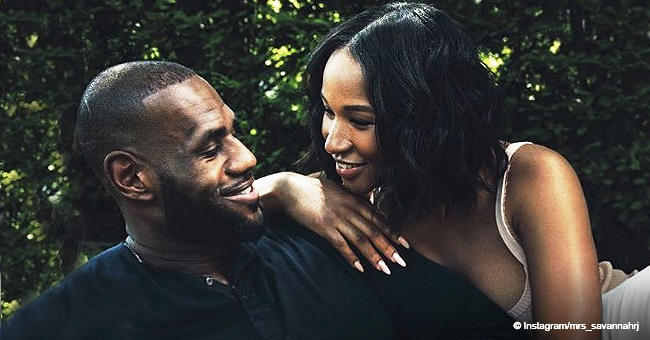 LeBron James' Wife Shares Photo of Their 3 Kids, Showing How Much They Look like Dad