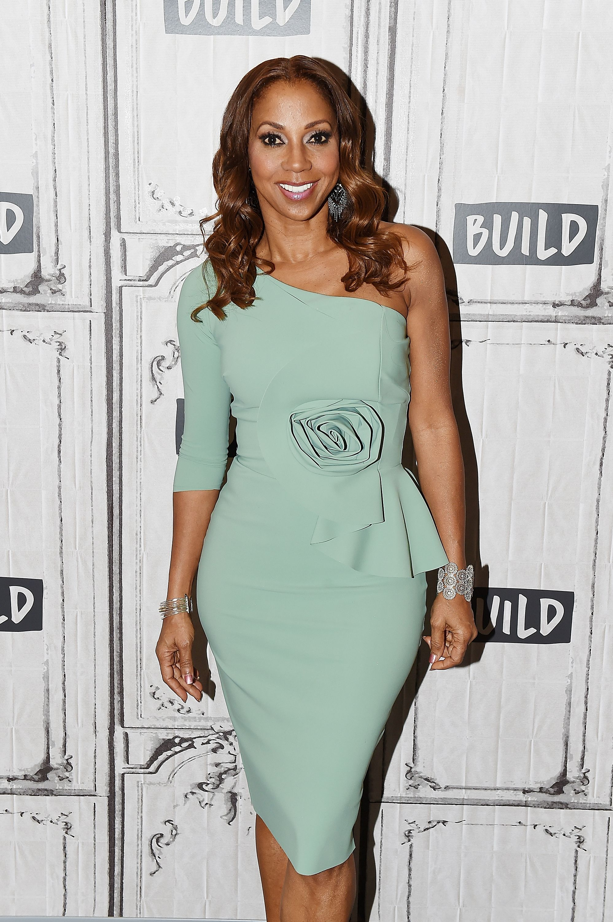 Holly Robinson Peete attends Build Series to discuss 'Meet the Peetes' at Build Studio | Getty Images