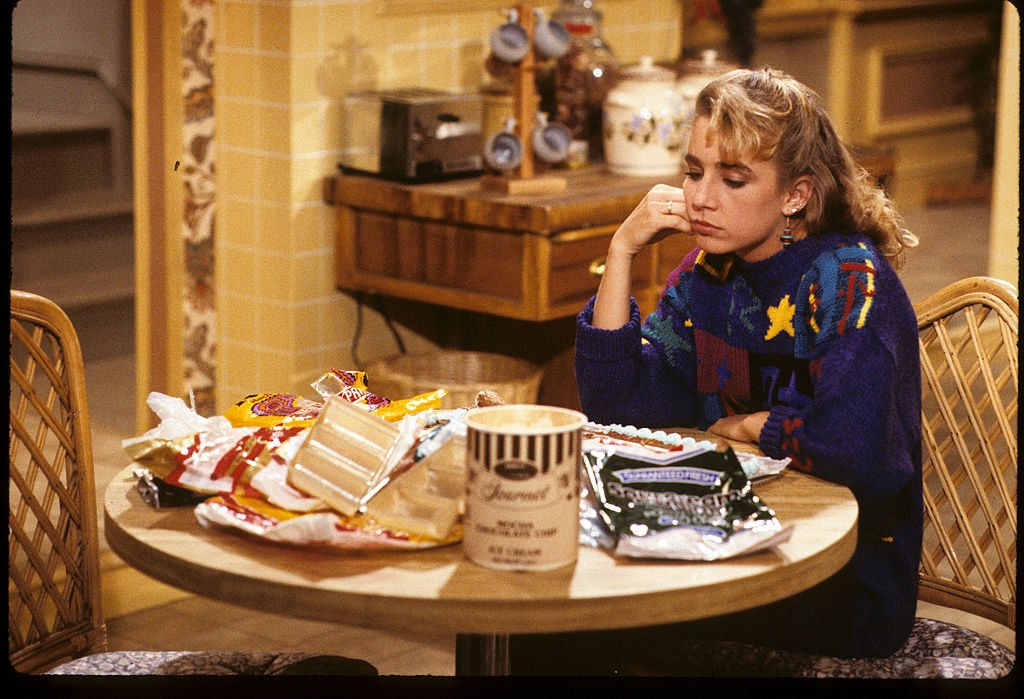 """Dana Plato on set of """"Diff'rent Strokes""""   Photo: Getty Images"""