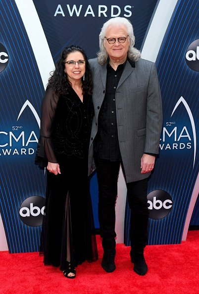 Sharon White and Ricky Skaggs at the Bridgestone Arena on November 14, 2018 in Nashville, Tennessee | Photo: Getty Images