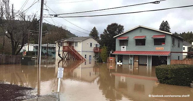 California Residents Return to Utter Devastation after Flood Emergency, More Rain Expected