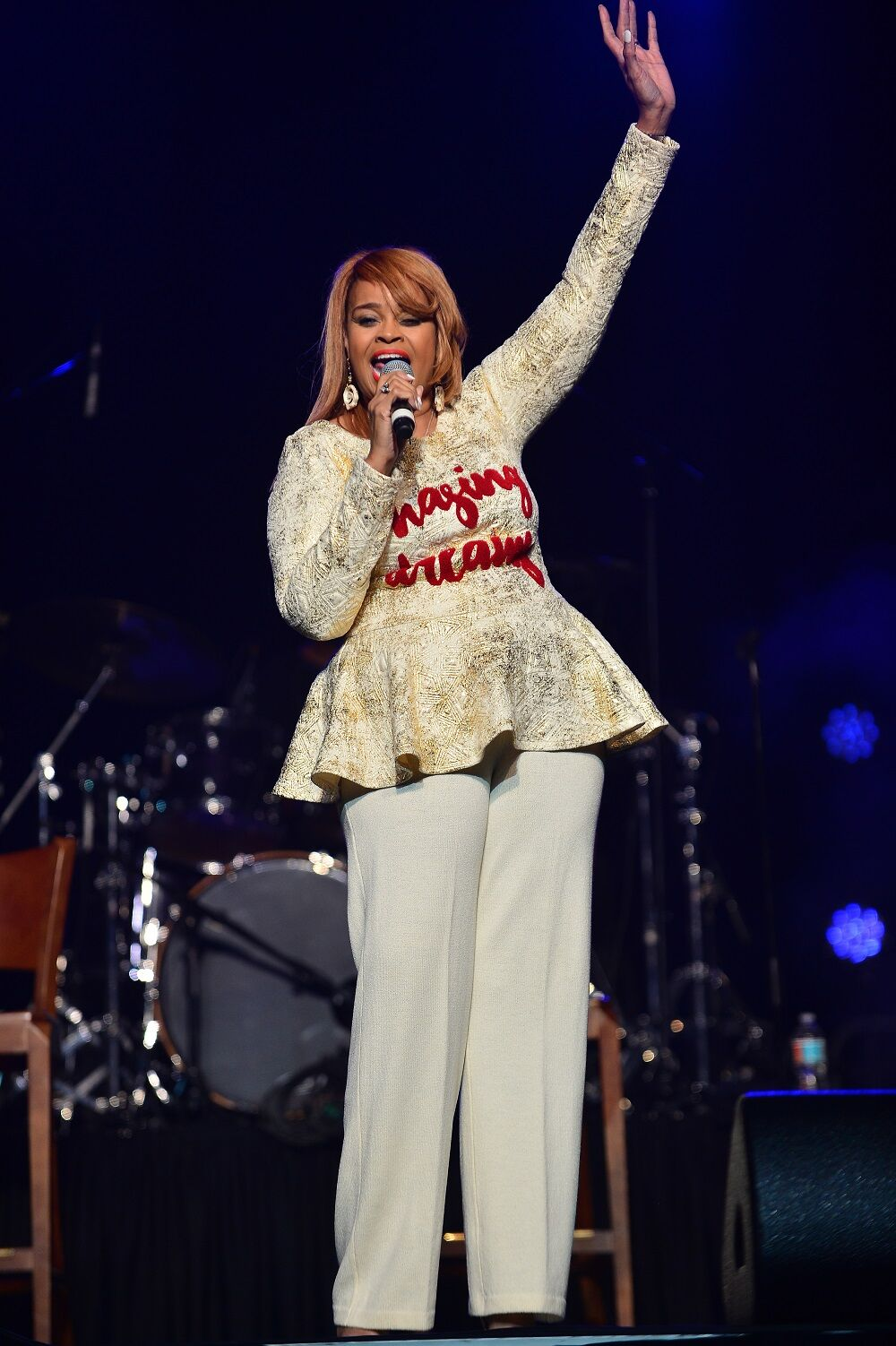 Karen Clark Sheard performs at the 2nd Annual South Dade MusicFest and Mothers Day Musicfest SBC Community Development Corporation (SBC CDC) at Watsco Center on May 14, 2017 in Coral Gables, Florida.   Source: Getty Images