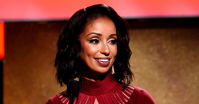 Singer Mya Looks Youthful at 40 Flaunting Her Curly Red Locks and Matching Red Lipstick