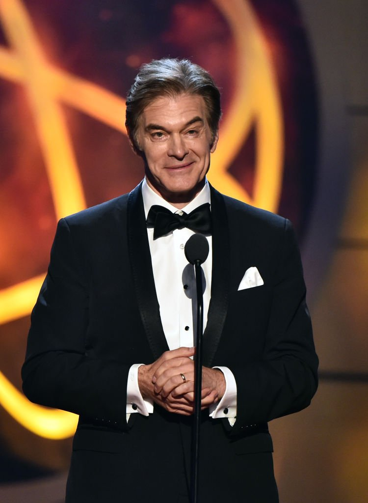 Dr. Mehmet Oz speaks onstage at the 46th annual Daytime Emmy Awards at Pasadena Civic Center | Getty Images