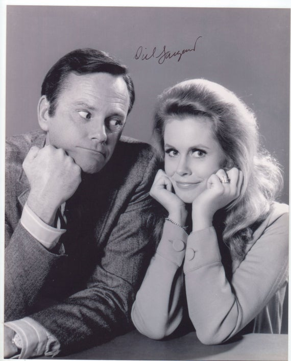 "Casts of ""Bewitched"" Darrin Stephens and Dick Sargent 