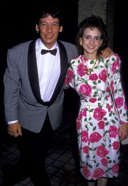 Jim Varney and wife Jane Varney on June 14, 1988 at the Century Plaza Hotel in Century City, California. | Photo: Getty Images