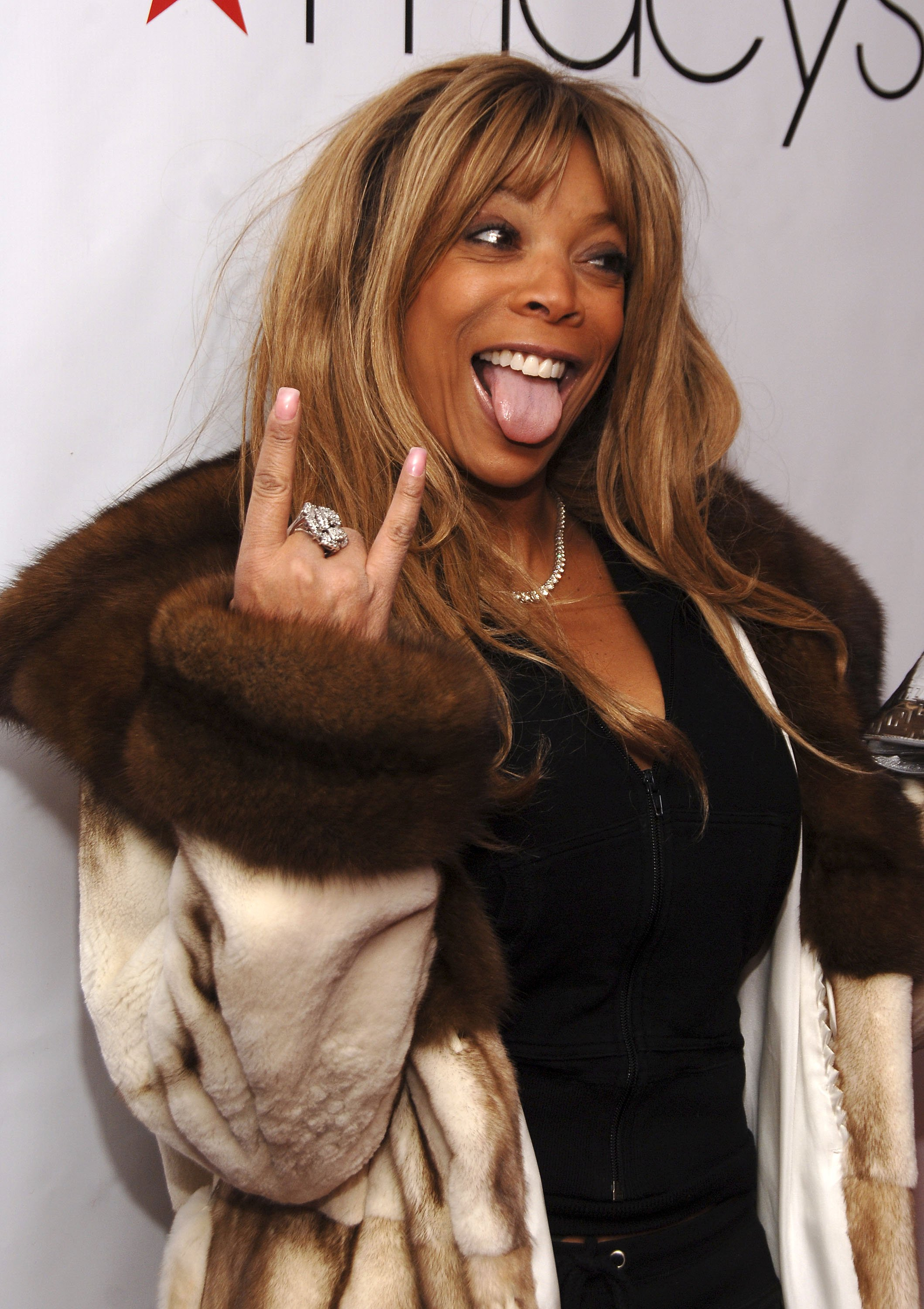 """Wendy Williams attends the Macy's """"Kiss & Tell"""" 