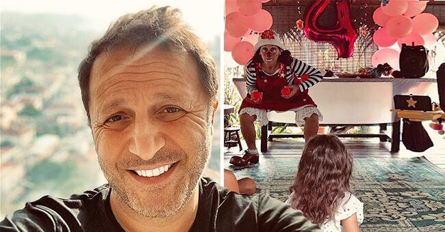 Arthur partage une jolie photo, prise lors du 4ème anniversaire de sa fille, Manava