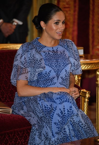 Meghan, Duchess of Sussex visits King Mohammed VI of Morocco, during an audience at his residence on February 25, 2019 in Rabat, Morocco | Photo: Getty Images