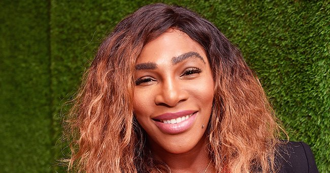 Check Out Serena Williams & Her Daughter Olympia Dressed In Matching Pink Swimsuits